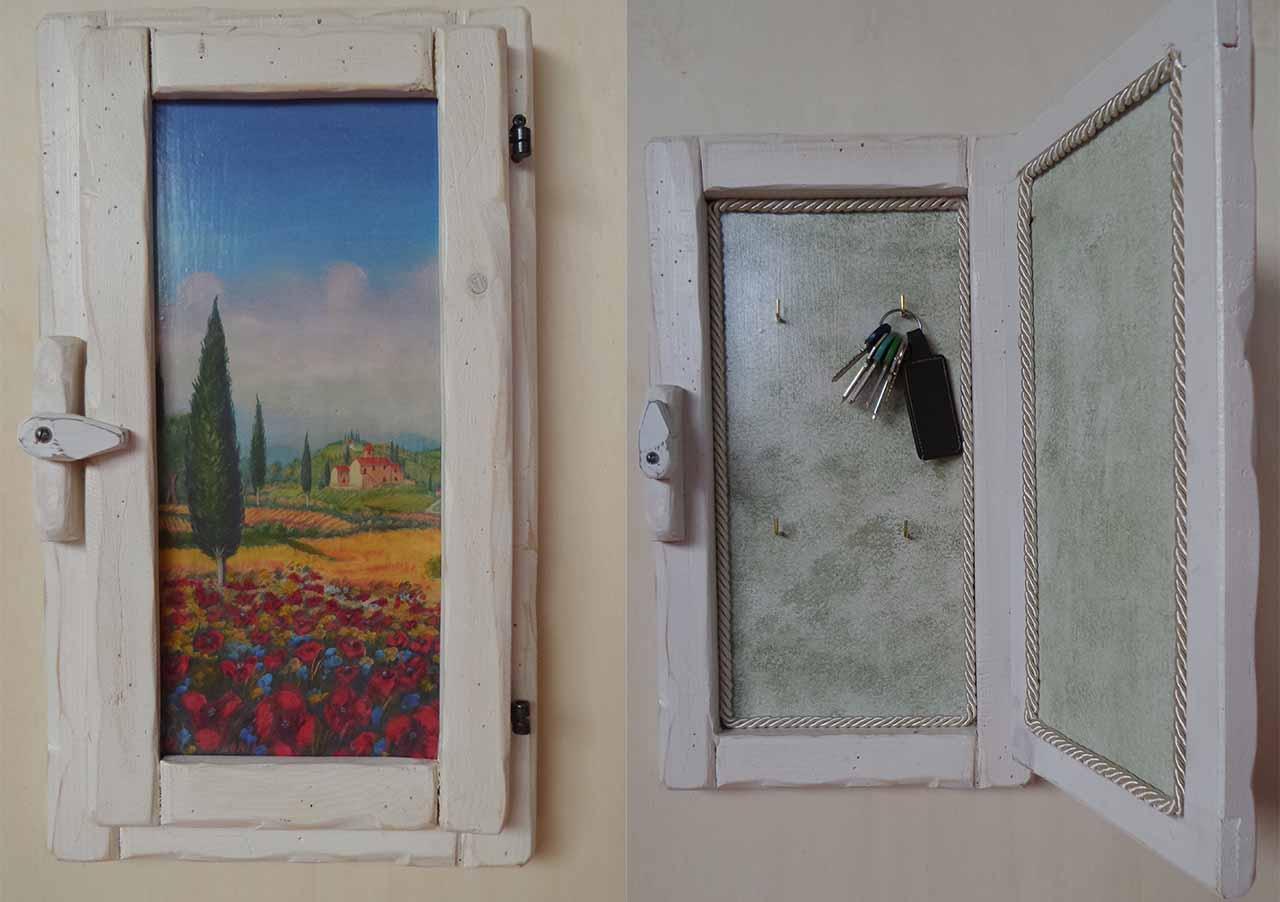 quadro finestra decoupage antonella menicagli