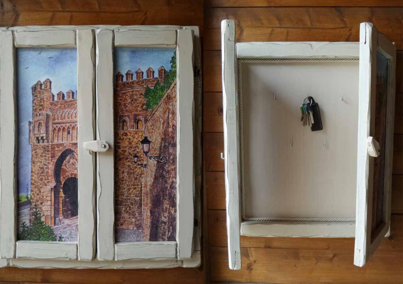 Quadri con finestre finestra sul lago montano with quadri - Quadri con finestre ...